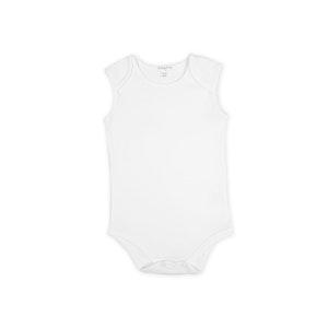 Babystory Singlet - Plain White