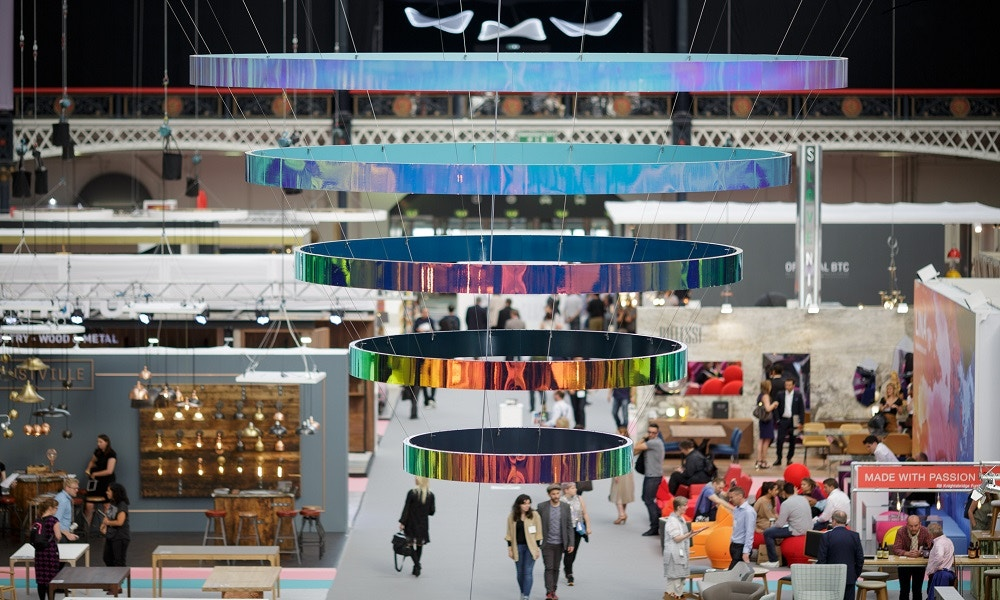 The London Design Festival - 100% Design and Luxury Made 2016