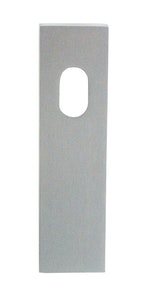 dormakaba wide style outer square end cylinder hole plain plate concealed fixing in SCP finish
