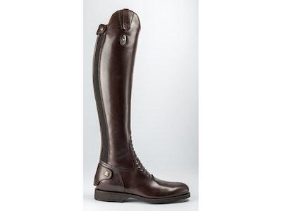 Secchiari Mens ZEUS Leather Elastic Riding Boot