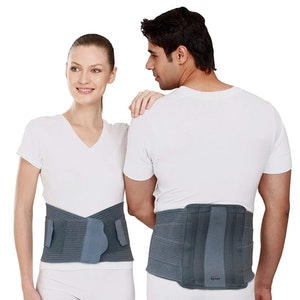 Tynor Contoured Lumbo Sacral Support (Removable Metal Stays)