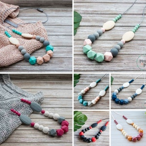 Marli & Me™ INDIE silicone necklaces | Assorted colours