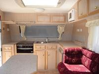 Internally, the apprentice-built Highlander highlights the quality of caravans of the future.