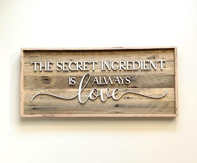 Asagai Gifts & Home Decor Reclaimed Hardwood Sign