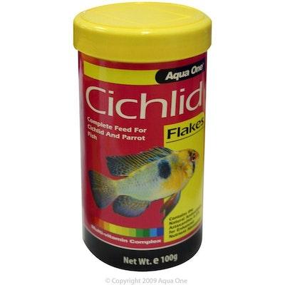 Aqua One Cichlid Flake Fish Food