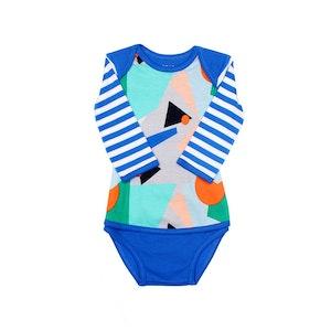 OETEO Australia EASYEO Matrix Long Sleeve Baby Romper