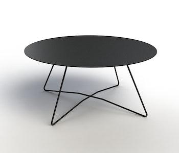PRE ORDER - Contorto Rap Coffee Table - Silver Spec