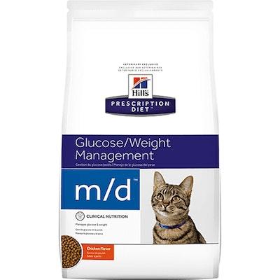 Hill's VET Hill's Prescription Diet M/D Glucose/Weight Management Dry Cat Food 1.8kg