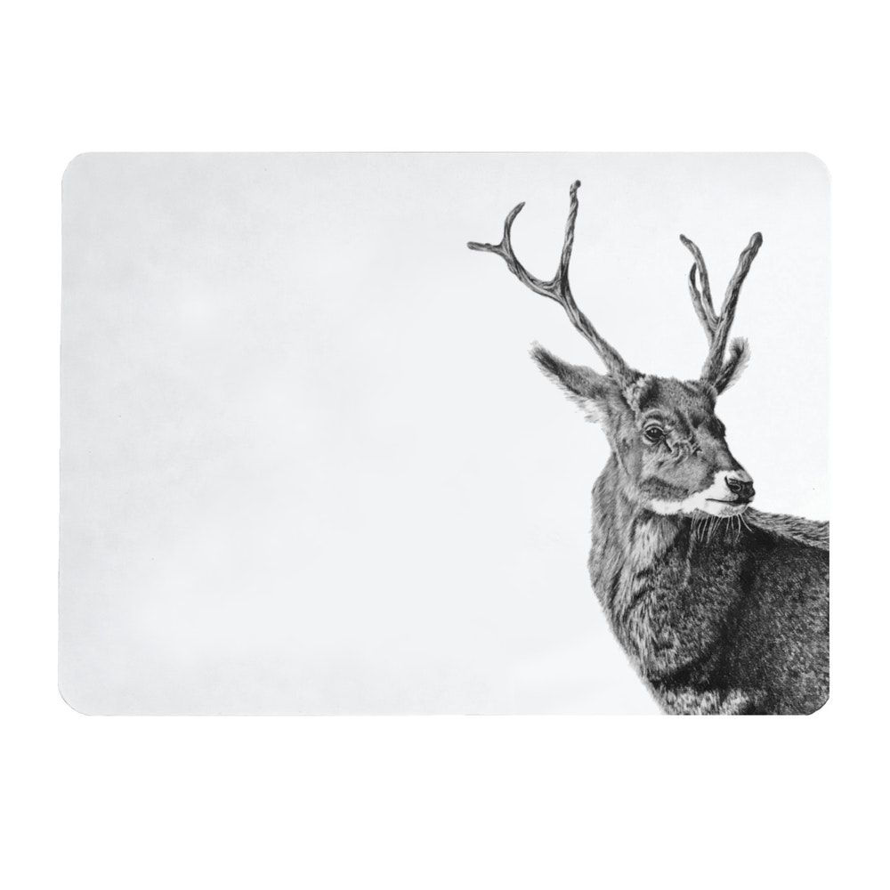 Bruce Bramfield Stag Placemats - Set Of Two