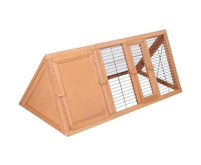 House of Pets Delight Rabbit & Guinea Pig Triangle Hutch