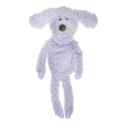Aroma Dog Calming Fleece Flatty Dog Squeaker Toy 51cm