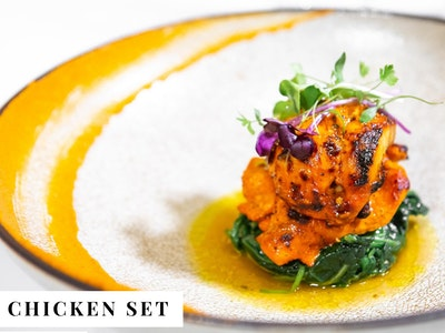 Chicken Set for 2 $57.50 pp