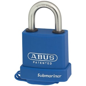 ABUS Mariner Padlock 83MAR/45 KD With Weather Cover - Blue