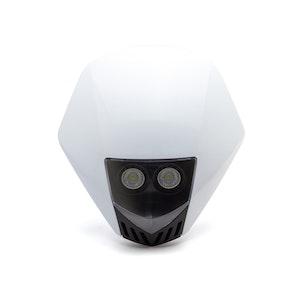 Stealth Supermoto LED Headlight - White