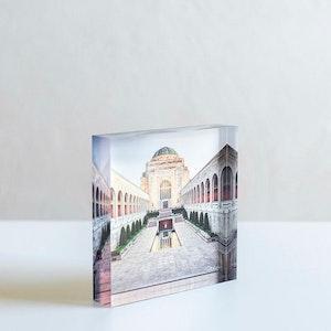 SACRIFICE - Acrylic Desk Block