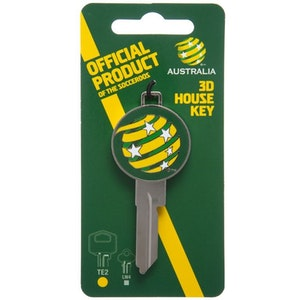 Creative Keys FFA Team Logo Key Blank LW4 - Socceroos