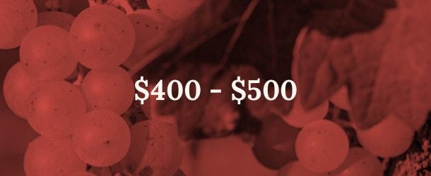 400 - 500 price range