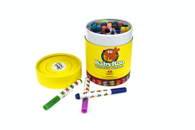 JarMelo WASHABLE MARKERS -BABY ROO 48 COLORS