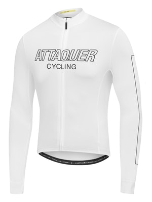 Attaquer All Day Outliner Long Sleeved Jersey White