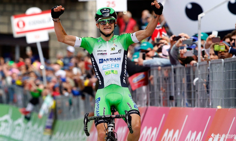 Ciccone Nabs Maiden Grand Tour Stage Win