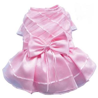 DoggyDolly SMALL DOG - Girly Pink Formal Doggy Dress