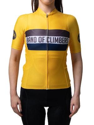 Band of Climbers Women's Horizons Jersey - Yellow