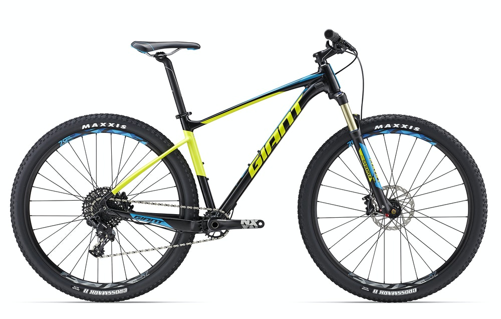 Giant Fathom 29 1 Black Blue BikeExchange 2017