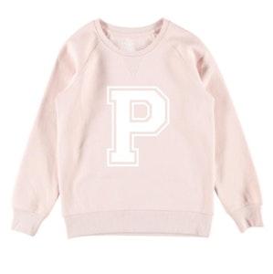 Personalised Varsity Jumper - Pale Pink