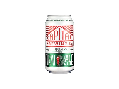 Capital Brewing Co Trail Pale Ale Can 375mL