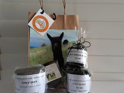 Clifden Alpacas Yarn Sampler Pack