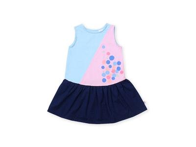 OETEO Australia Urban Kids Colourblock Dress (Blue)