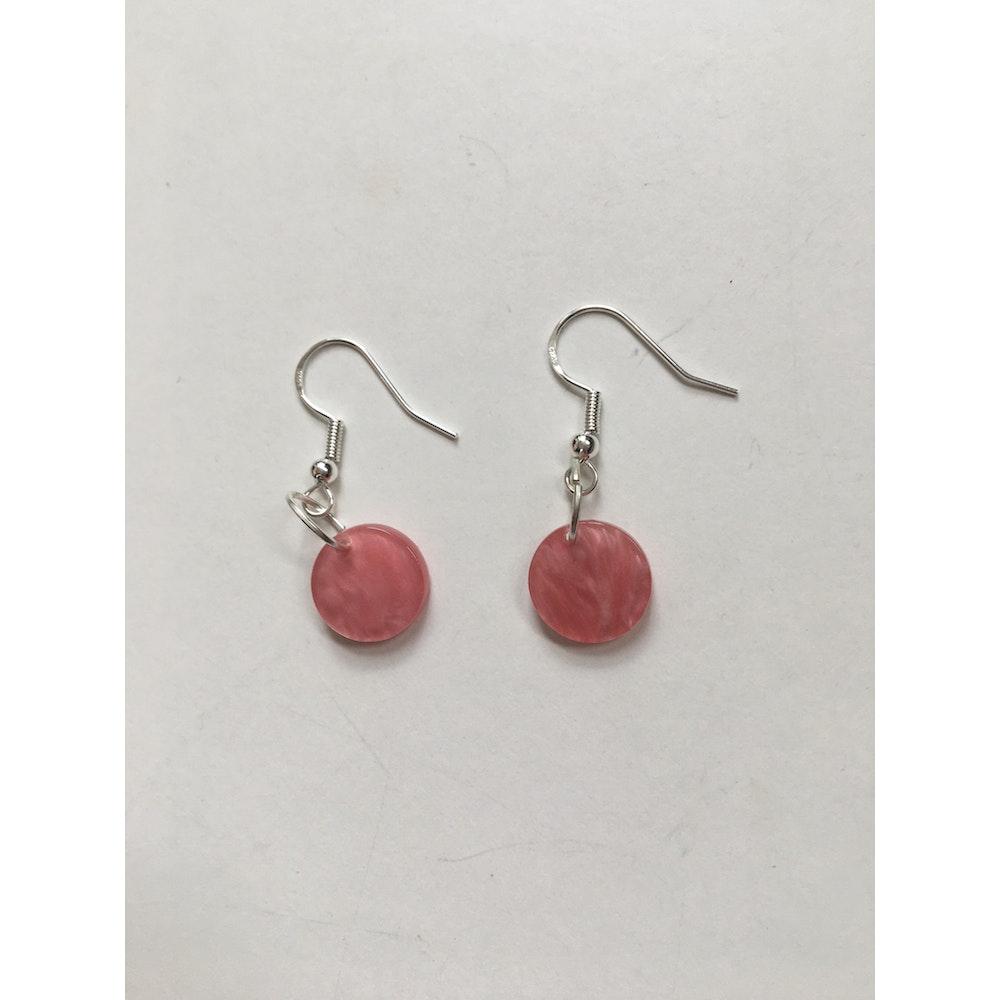 One of a Kind Club Pink Charm Earrings