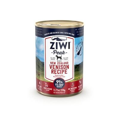 ZiwiPeak ZIWI Peak Dog Venison Recipe Can 390G