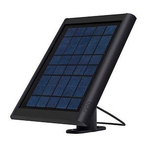 Ring Solar Panel For Spotlight and Wireless Ring Cameras in Black