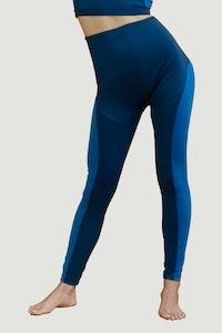 1 People Stockholm Leggings in Sapphire Blue