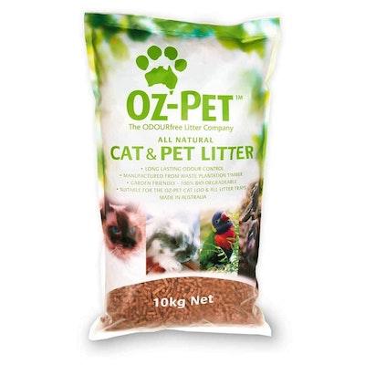 Oz-Pet All Natural Cat & Pet Litter - 10kg