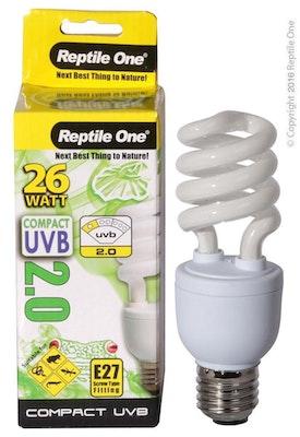 Reptile One Compact UVB Bulb 26W E27