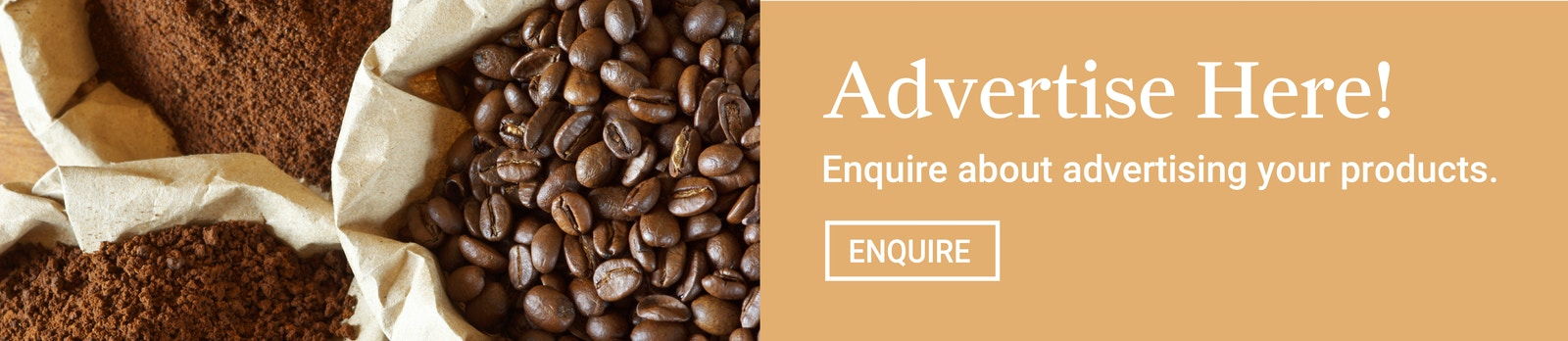 Coffee Promo Banner