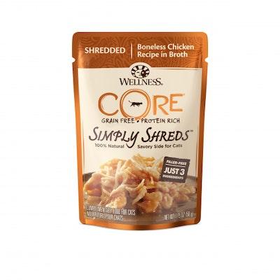 WELLNESS CORE Simply Shreds Chicken Wet Cat Food 50G