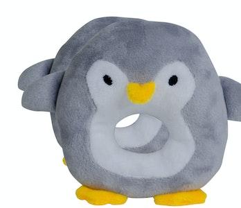 BibiLand BibiBaby Cuddle Rattle - Percy Penquin