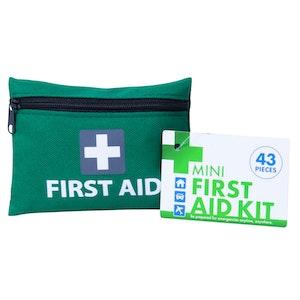 Boutique Medical 4x 43pcs MINI FIRST AID KIT Emergency First Aid Kit Medical Travel Set Pocket Family Safety AU