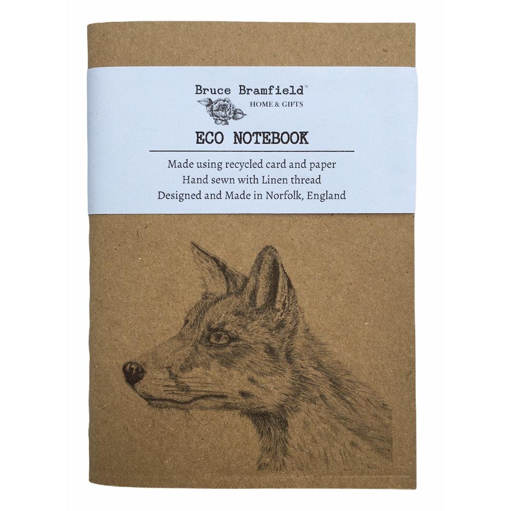 Bruce Bramfield Fox Eco Notebook