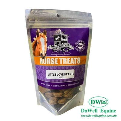 HUDS & TOKE Cookies for horses - Little Love hearts 100g