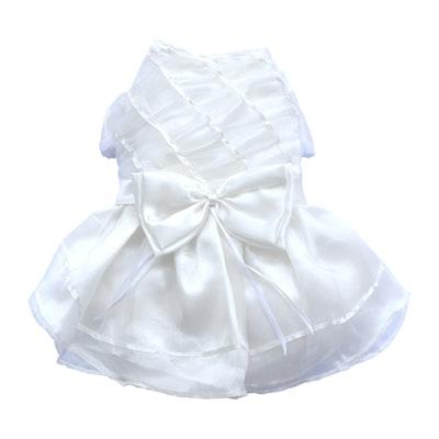 DoggyDolly SMALL DOG - Ivory Wedding Dress