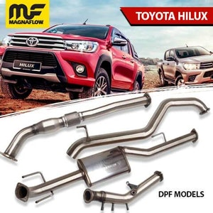 Toyota Hilux 2016-2020 2.8L TD MagnaFlow DPF Back Exhaust System With DPF