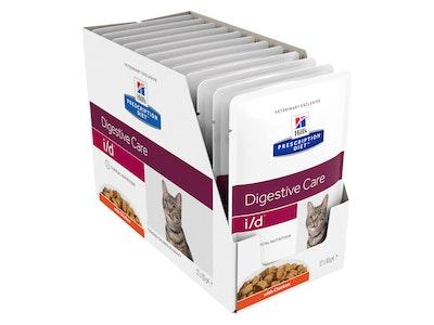 Hill's Prescription Diet Cat i/d Digestive Care Chicken 12 x 84g