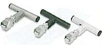 Minoura Space Grip 3 Wide White H/Bar 25.4