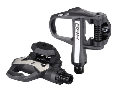 Pedals Clipless Roadking Cromo Axle Black