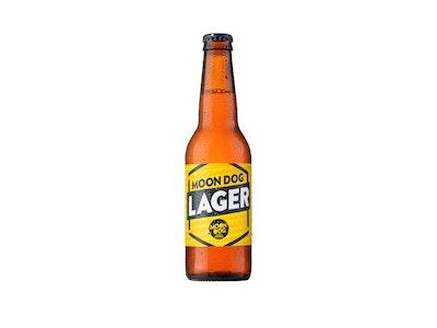 Moon Dog Lager Bottle 330mL