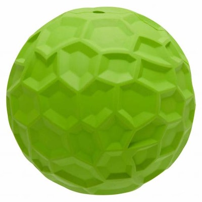 LEXI & ME Rubber Toy Green Treat Ball